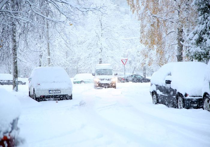 В Украине пройдут сильные снегопады