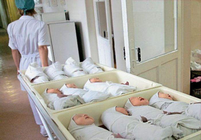 Украинка родила сразу четверых малышей (фото)