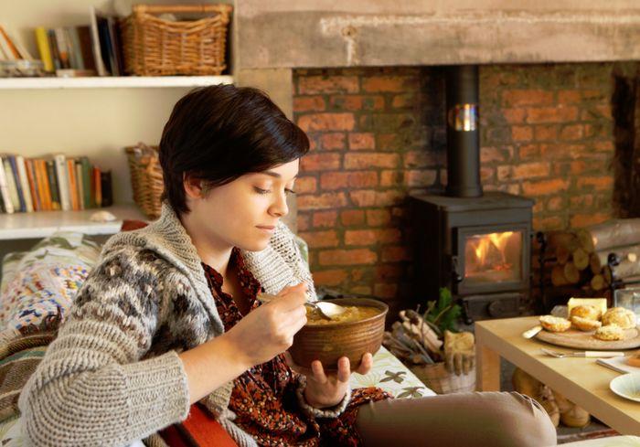 Зимняя диета должна быть питательной и согревающей