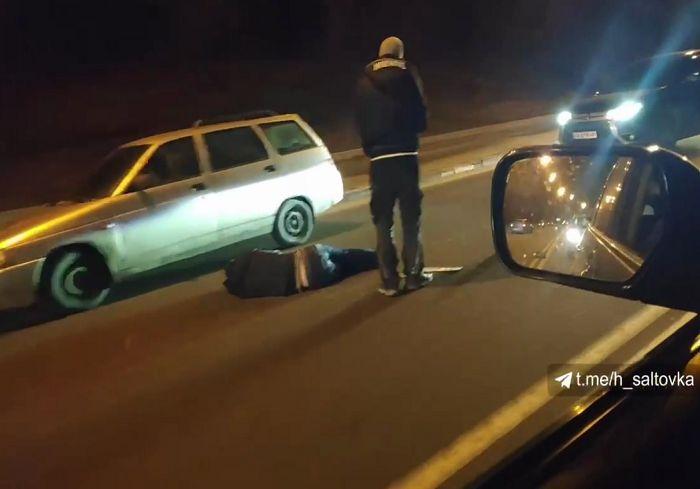 На Журавлевском спуске сбили пешехода