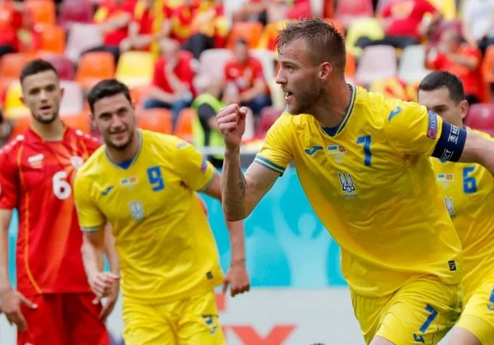 Сборная Украины одержала первую победу на Евро-2020