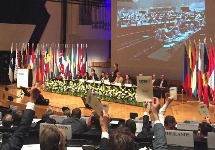 Парламентская ассамблея ОБСЕ приняла украинскую резолюцию против России