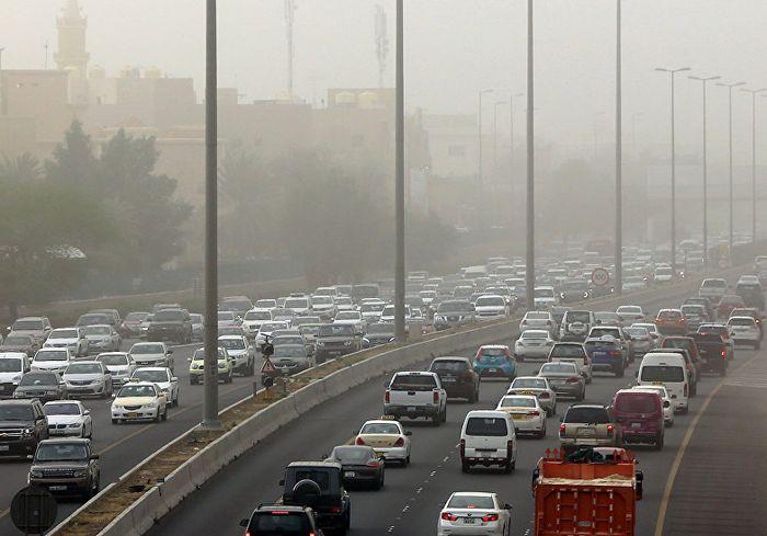 В Кувейте из-за дикой жары плавятся автомобили (фото)