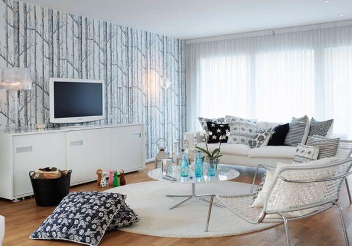 Белый телевизор: специфика размещения, плюсы и минусы