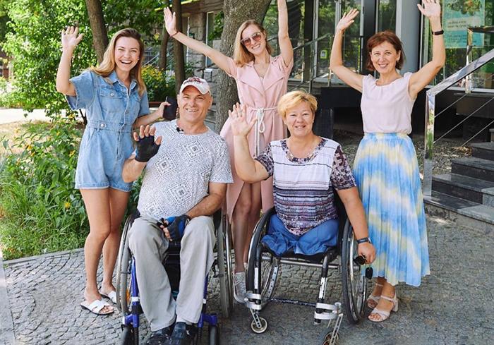 Харьков проверяют на доступность для людей с инвалидностью