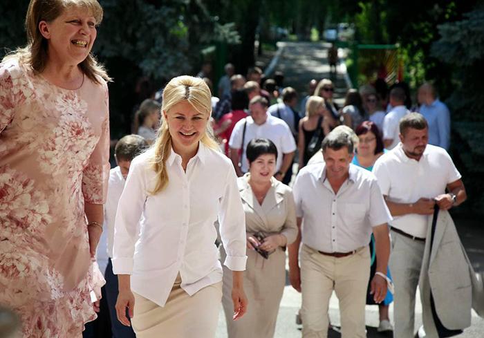 Юлия Светличная встретилась с громадами Красноградского района