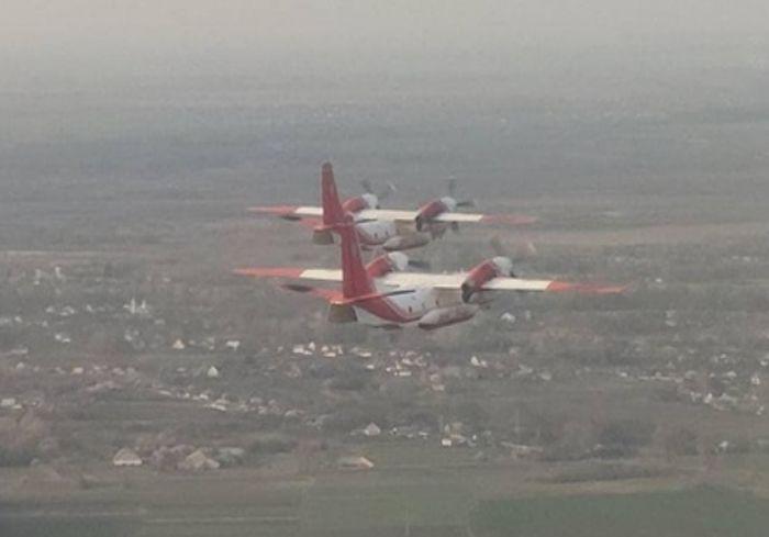 Украинские самолеты полетели в Турцию тушить пожары