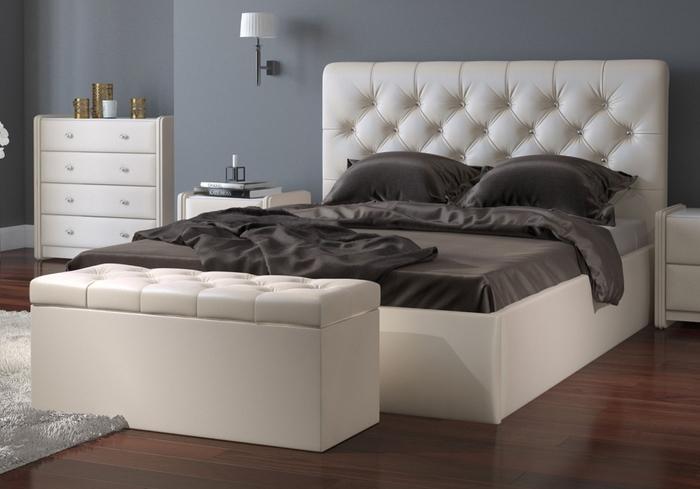 Мягкая кровать – комфортная основа для отдыха и сна в спальне