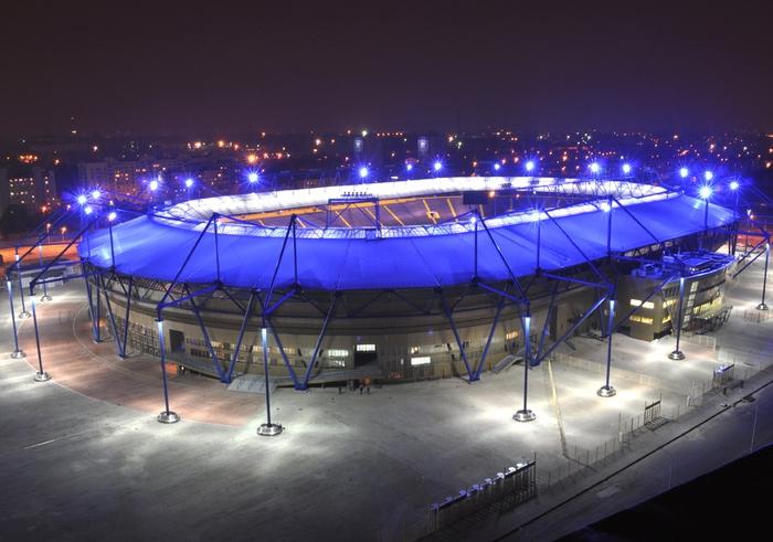 Главе ассоциации футбола представили восстановленную инфраструктуру ОСК «Металлист»