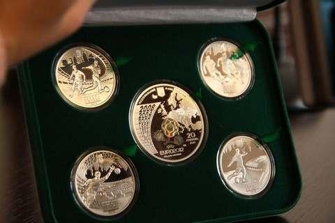 Нбу выпустил серию памятных монет