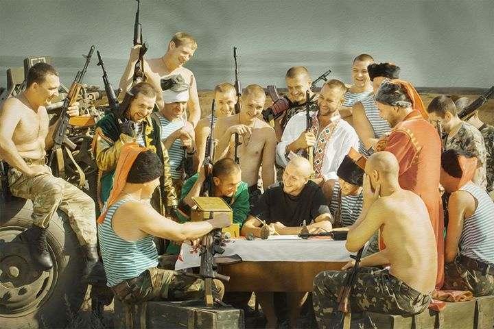 """Боевики обстреливают позиции украинской армии на донецком направлении из артиллерии и 120-мм минометов, - пресс-офицер сектора """"Б"""" - Цензор.НЕТ 2807"""