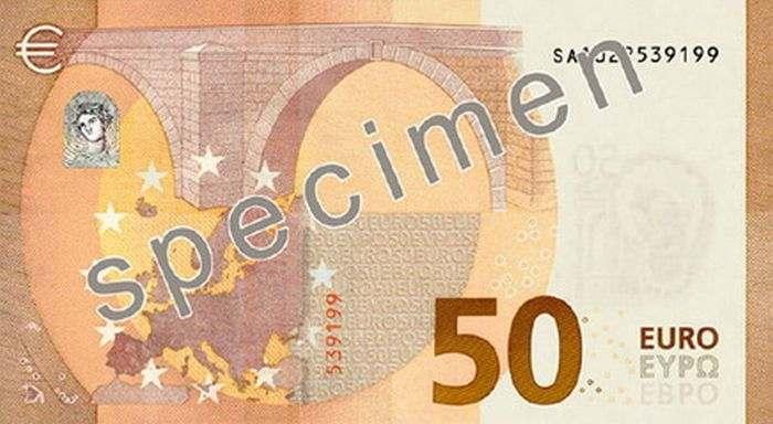 ЕСвводит вобращение обновленную банкноту номиналом €50